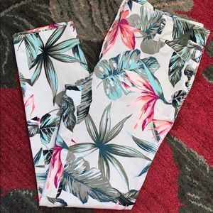 New York and company Stretch Floral  jeans